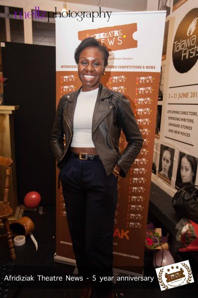 Actor Anniwaa Buachie-Afridiziak Theatre News 5th Birthday -  [image by Mellz Photography]