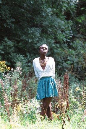 Anniwaa Buachie - Working closely with provocative compelling photographer Giulia Astesani, Innocence is Lost into Dark documents the journey of a girl as she embarks on womanhood.