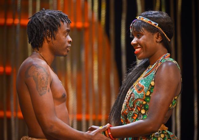 Ery Nzaramba & Anniwaa Buachie as Nhamo and Chipo