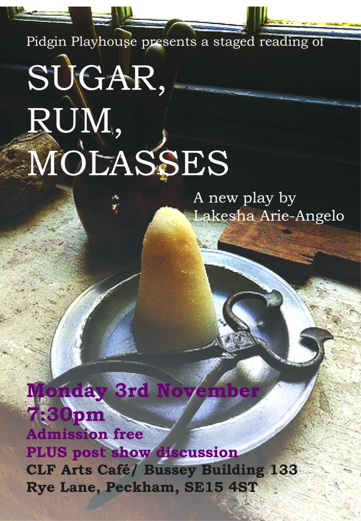 Sugar, Rum, Molasses Reading (1)